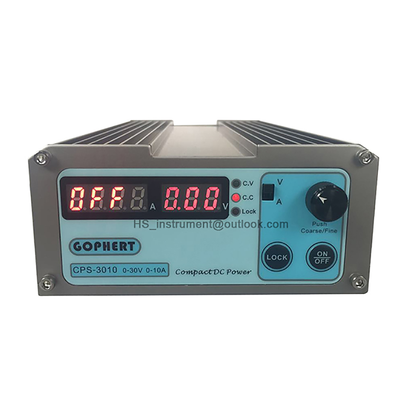 NEW&ORIGINAL CPS-3010 300W (110Vac/ 220Vac) 0-30V/0-10A, Gopher Compact Digital Adjustable DC Power Supply полуприцеп маз 975800 3010 2012 г в