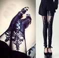 Women PU Leggings Imitation leather Leggins Black Jeggings Hot Trousers 1 Pieces Retail WL0009