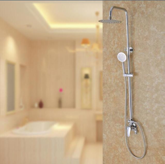 Dofaso 20 cm hoofd regendouche set roestvrij volledige badkamer ...