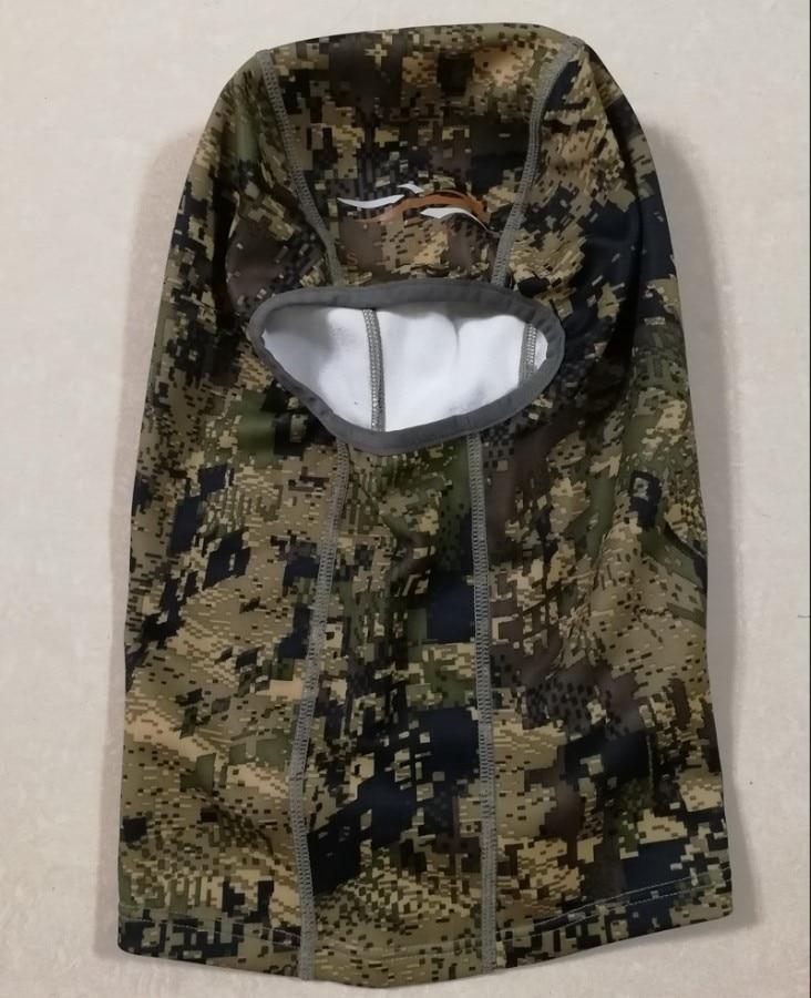 Image 5 - 2018 Sitka Hunting Core Heavyweight Balaclava Men Thick Fleece Mask Head Warm Camouflage USA Size OS Men Hat Male Capbalaclava menmen hatmale cap -
