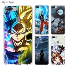 Uyellow Dragon Ball Super Goku Soft Phone Case For Huawei Honor 8A 8X 8C 8S 9 10 20 lite Pro Hawei 20i V20 Cover Coque