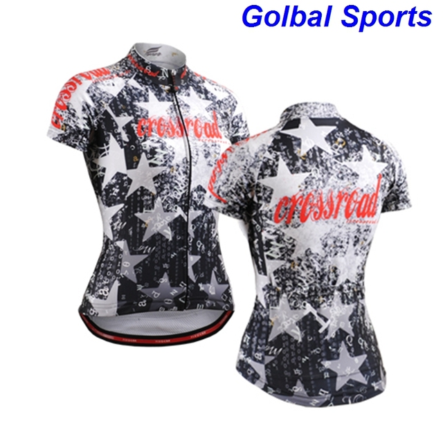 2017 Women Cycling Jersey Short Sleeve Jersey Chinese Design Bicycle  Breathable Cycling Topwear sport Jersey a6e9c0761