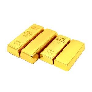 Image 2 - Metall Gold bars/ziegel modell USB Stick Bullion stift memory stick usb Stick 4GB/8GB/16GB/32GB/64GB U disk thumb drive