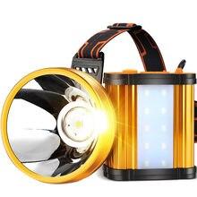 Светодиодный налобный фонарь shenyu Головной с 3 режимами на