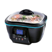 Electronic fryer electric health pot household multi function electric pot High capacity 5L 220V 1500W 1pc