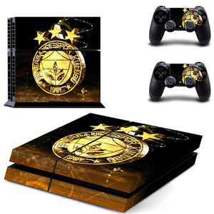 Image 2 - Fenerbahce Spor Kulubu Football PS4 Skin Sticker Decal Vinyl for Sony Playstation 4 Console and 2 Controllers PS4 Skin Sticker