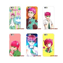 Accessories Phone Cases Covers For Samsung Galaxy A5 A6S A7 A8 A9S Star J4 J6 J7 J8 Prime Plus 2018 Saiki Kusuo no Psi Nan(China)