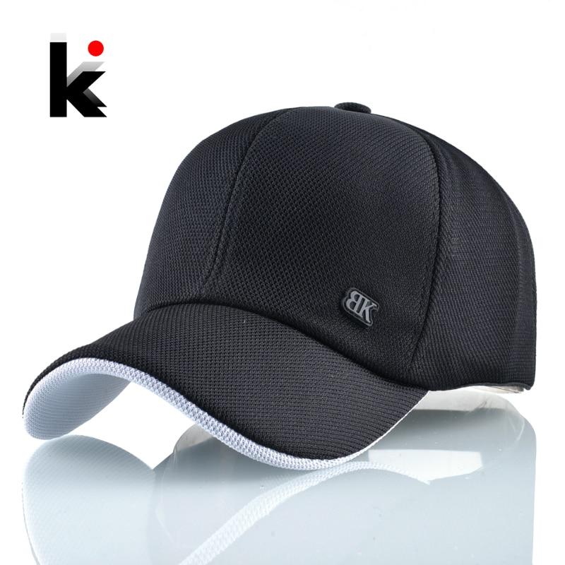 Fashion Baseball Cap Women Solid Dad Hat Breathable Mesh Snapback Hip Hop Hats For Men Outdoor Sport Casual Golf Bone Casquette