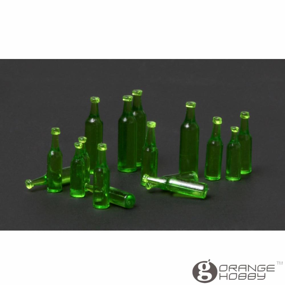 OrangeHobby Meng SPS011 1/35 Beer Bottles for Vehicle/Diorama 4 Type in 1 Set Miniatures Accessories Model Building Kits