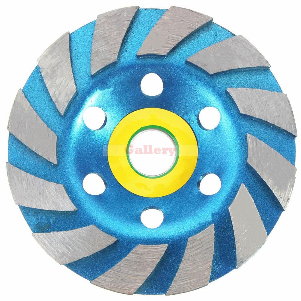 4776ac3901520 100 Mm 4 de Polegada de Diamante Rebolo de Alvenaria de Concreto Pedra de  Mármore Ferramentas de Disco de Lixa Abrasiva Rebolo Rebolo