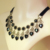 Zglouriousworld gótica hecha a mano hecho a mano moda negro vintage lace choker collar joyería de las mujeres accesorios gy108 para las mujeres