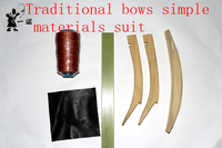 DIY Chinese traditional bows material suits you can do a simple bow material