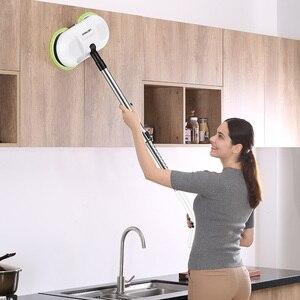 Image 5 - LIECTROUX コードレス電動モップ水去勢で、ワックスがけ Moping パッド、ウェット床ロボット掃除機、低ノイズ、 led ライト