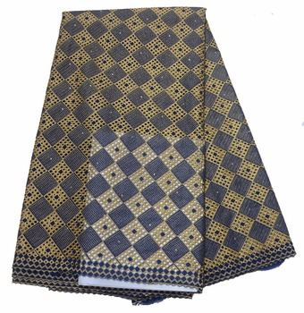 2018 African swiss voile lace high quality ,wedding lace African Fabric 5Yards 100% Cotton Swiss Voile Lace P466-6