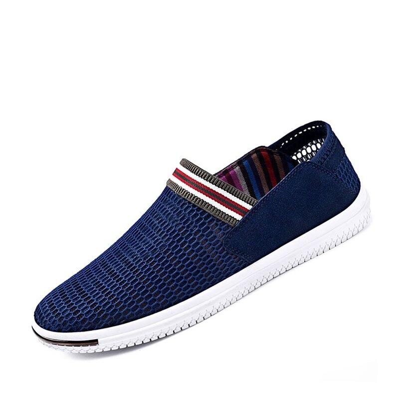 SUROM Summer Men Casual Shoes Slip-On Súper Ligero Transpirable - Zapatos de hombre - foto 2