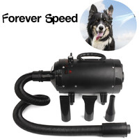 Professional 2400W Pet Dryer Low Noise Dog hair Dryer Adjustable Cat Grooming Air Blower Adjustable temperature Multifunction