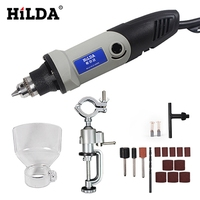 HILDA Mini Electric Drill With 6 Position Variable Speed Dremel 220V 400W Style Rotary Tools Mini