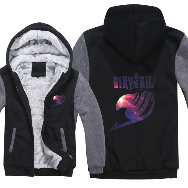 Fairy Tail Winter Hoodie For Men