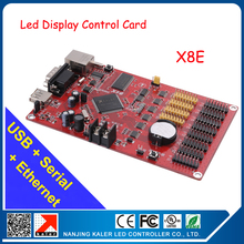 Kaler X8E LED Display Card Multifunction Card Infinite Width Full Color LED Module Control Card LED Moving Text Controller Card