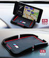 Acessórios Interiores do carro Silicone Anti Slip Pad Mat Para BMW Logo Phone Holder GPS Pad