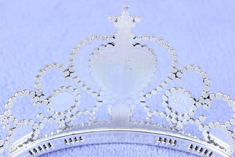 Yiwu оптовая продажа с фабрики Обувь для девочек Queen диадемы лентой экологически безопасных Материал дети глава ювелирные изделия Корона кра...