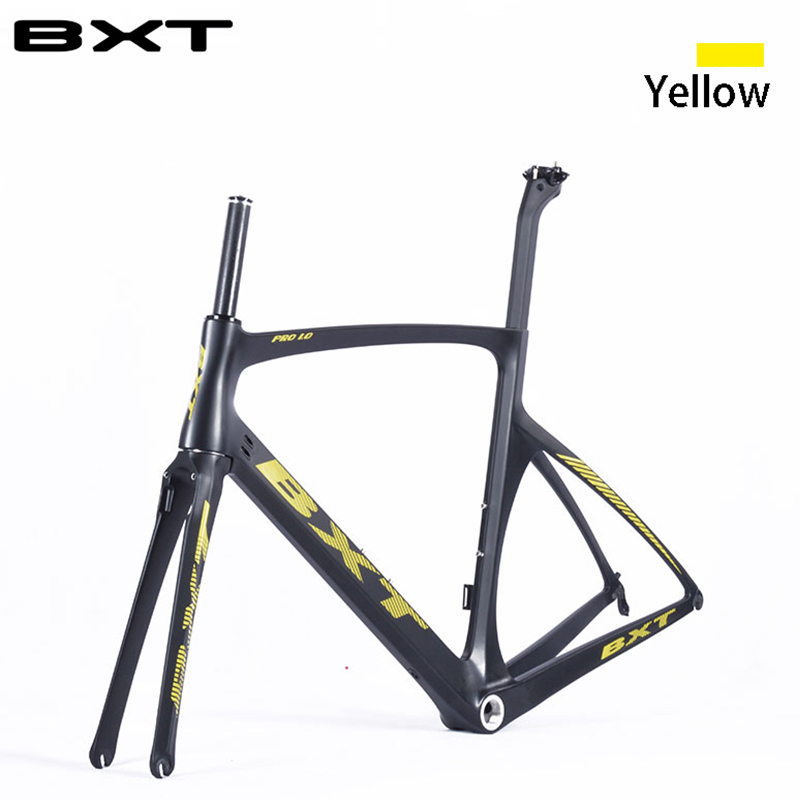 Hot sell 2016 T800 bicycle carbon road frames with fork seatpost frame carbon road racing bike frame bicycle frame