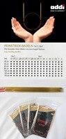 Addï 775-7 80 cm Cố Định Ren Tròn Knitting Needles với Thêm Sắc Nét Lời Khuyên vàng 1.5 mét 1.75 mét 2.0 mét 2.25 mét 3.0 mét 4 MÉT 5 MÉT 7 MÉT 8 MÉT