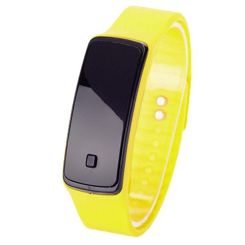 FUNIQUE Moda dzieci cyfrowy zegarek kobiet mężczyzn elektroniczny - Zegarki dziecięce - Zdjęcie 2