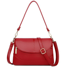 Genuine Leather Crossbody bags for women Shoulder Bag Luxury handbags female Tote Purse Wallets Ladies Messenger Bags недорого