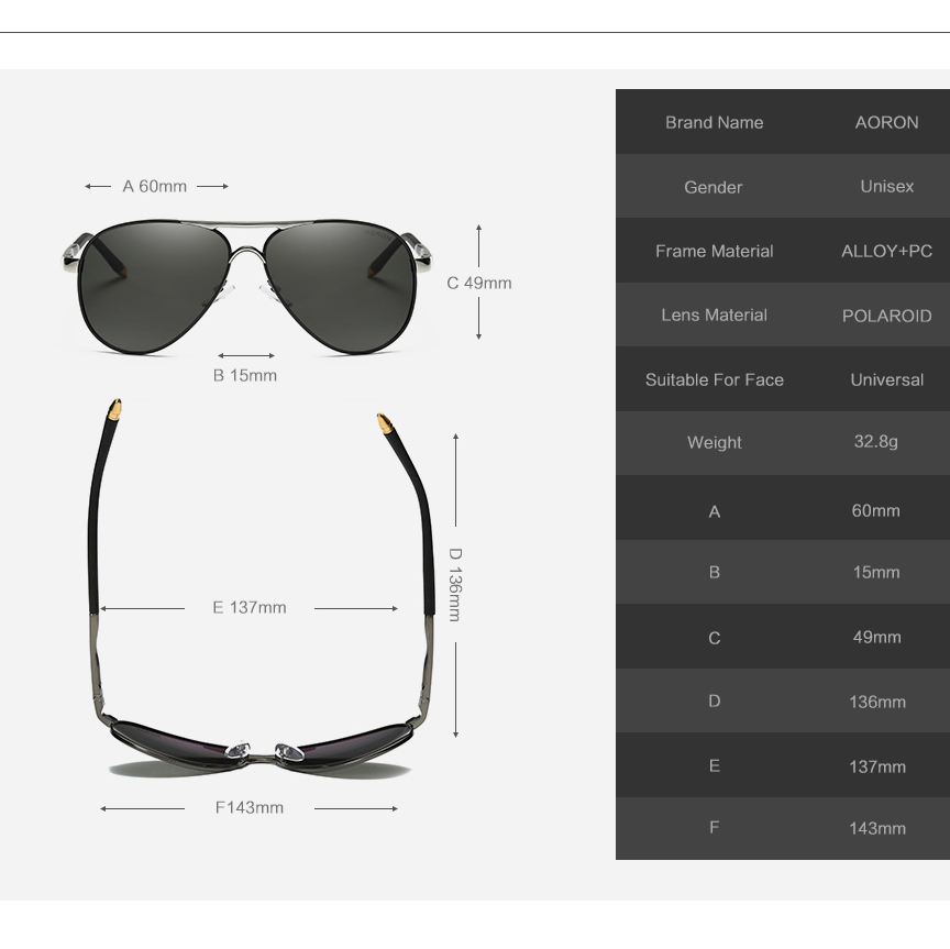 Simvey Fashion Classic Men Aviation Gafas de sol Luxury Brand Design - Accesorios para la ropa - foto 6