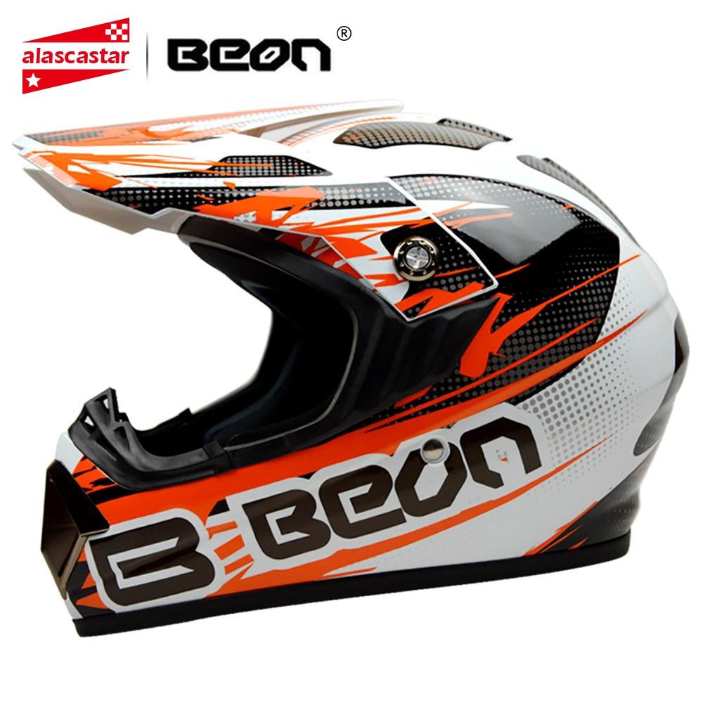 цена BEON Motorcross Helmet Moto Casco Men Full Face Helmet Motorcycle Helmet Racing Motorbike Dirt Bike Downhill Moto Helmet