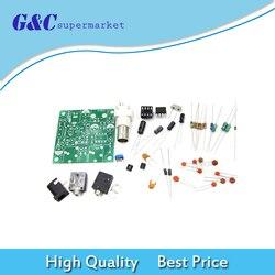 1 Set DIY RADIO 40M CW Shortwave Transmitter QRP Pixie Kit Receiver 7.023-7.026MHz Short Wave Transmitter DC 9V-14V