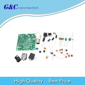 1 ensemble bricolage RADIO 40M CW transmetteur à ondes courtes QRP Pixie Kit récepteur 7.023-7.026MHz transmetteur à ondes courtes DC 9V-14V