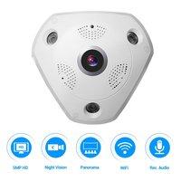 5.0MP 360 градусов камера видеонаблюдения рыбий глаз Беспроводная ip камера купольная камера с WiFi VR камера Удаленный просмотр бесплатное прилож