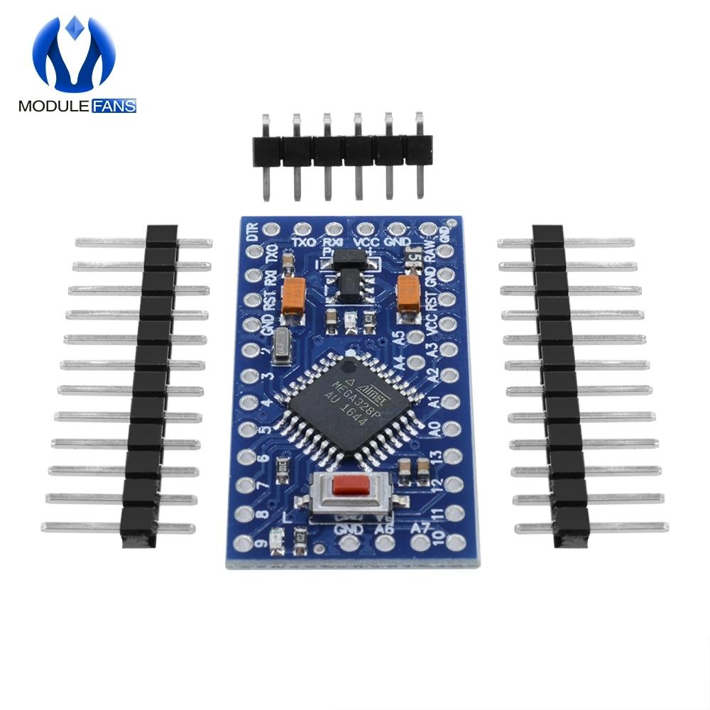 Pro Mini Atmega328P 3.3V 8MHz Micro-Controller Module for Arduino Nano Compatibl