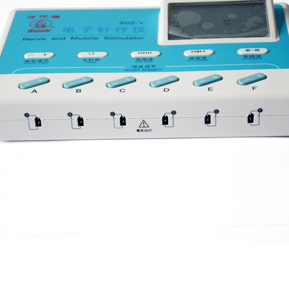 6 Oberoende kanaler SDZ-V Elektrostimulator Body Relax Massager Pulse - Sjukvård - Foto 3
