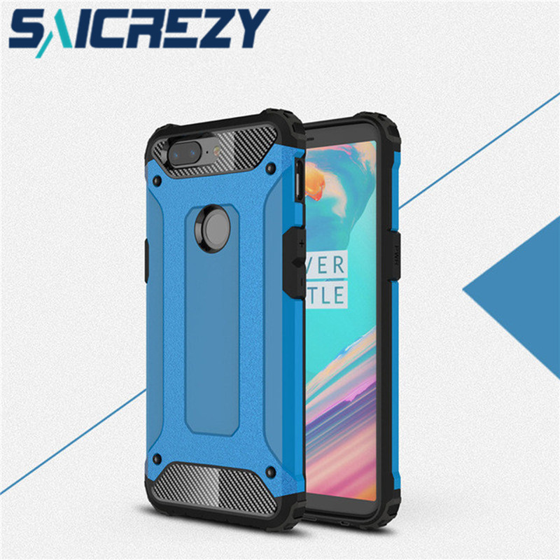 For <font><b>Oneplus</b></font> 5T <font><b>6T</b></font> case cover funda <font><b>Oneplus</b></font> 6 Luxury Shockproof One plus 6 bumper protect for one plus 5 5t <font><b>smartphone</b></font> case cover image