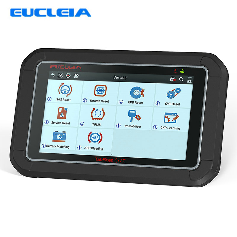EUCLEIA S7C Full System Car Diagnostic Tool Professional OBD2 Auto Scanner With DPF EPB TPMS Oil Service Reset For Benz W212 стоимость