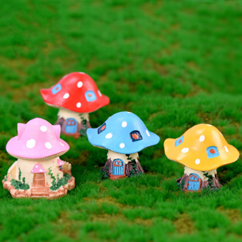 Sleeping Shroom Babies Miniature Dollhouse FAIRY GARDEN Accessories