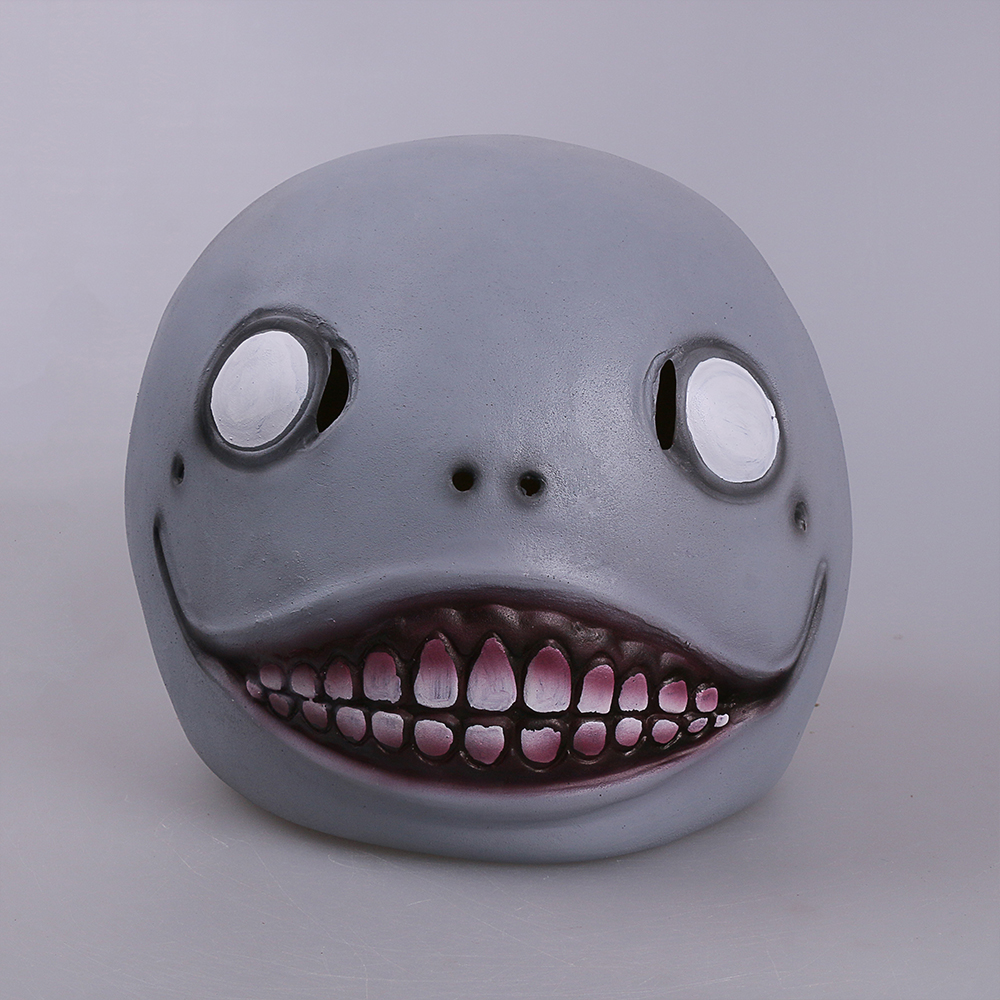 NieR: Automata Masks Hot Game Cosplay Emil Mask Adult Helmet 1:1 Latex Halloween Party