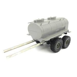 Image 2 - Wpl 1 B24 B16 B36 シミュレーション列車オイル輸送タンクタンカートレーラーバスケットトラックモデルrc車の部品ウラル 1/16 2.4 グラム 6wd rcカー
