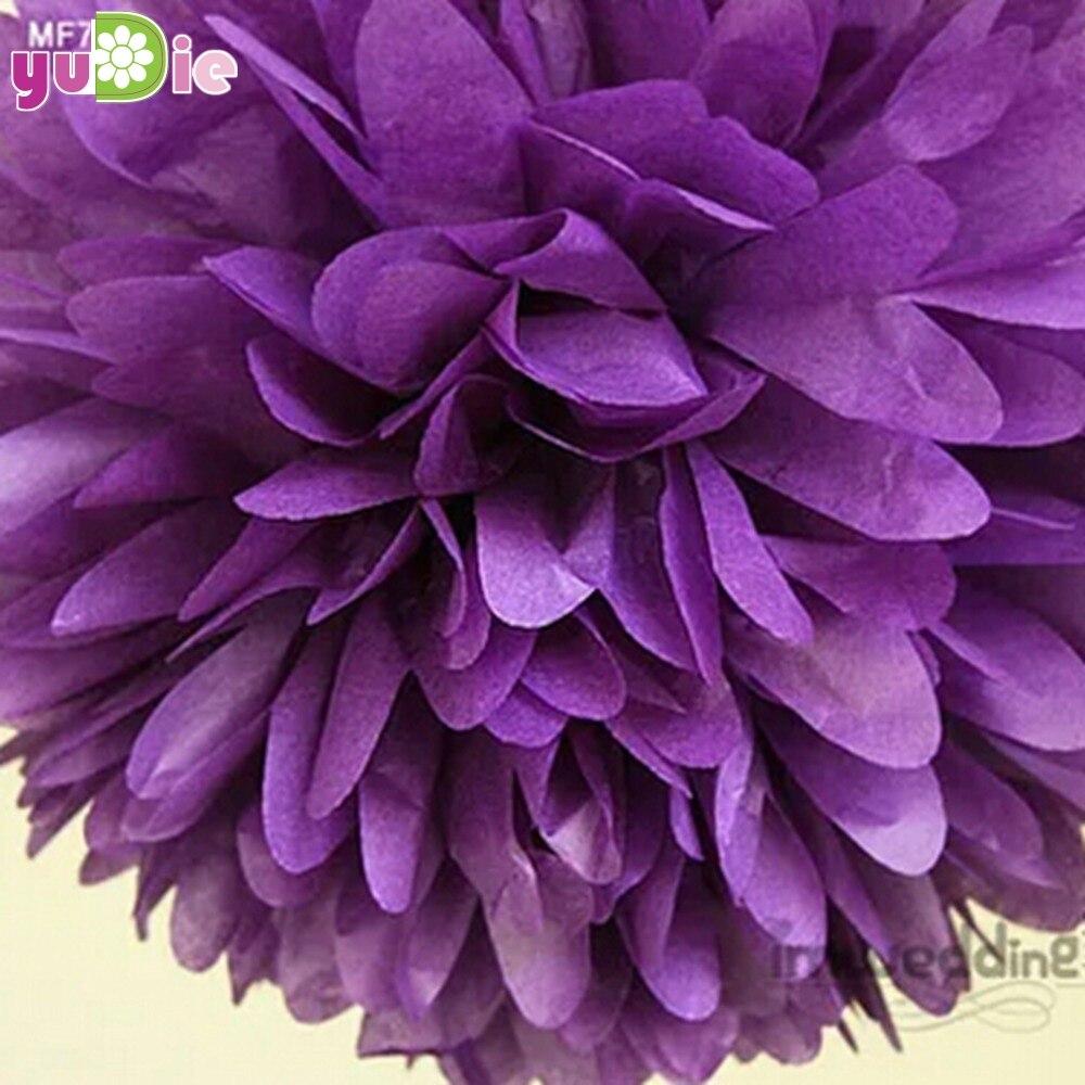 20 unids 30 cm flor de papel bola wedding party palillo del resplandor del parti