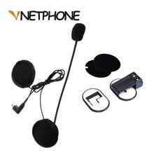 2017 ограниченное по времени предложение-Capacete каско штекер Mini-USB микрофон динамики гарнитуры и шлем домофон зажим для Vnetphone V2-500 V2-1200