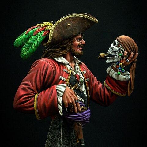 1/9 фигура из смолы, грудь, игры, фильмы, фигурки пиратов, что вы думаете