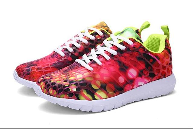 2016 Sale New Arrival The Spring And Autumn Period Lady Camouflage Printed Brand Casual Shoes, Women's Flats Shoes