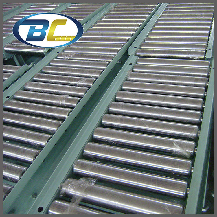 Factory Supply Gravity Roller Conveyors for Unit Handling