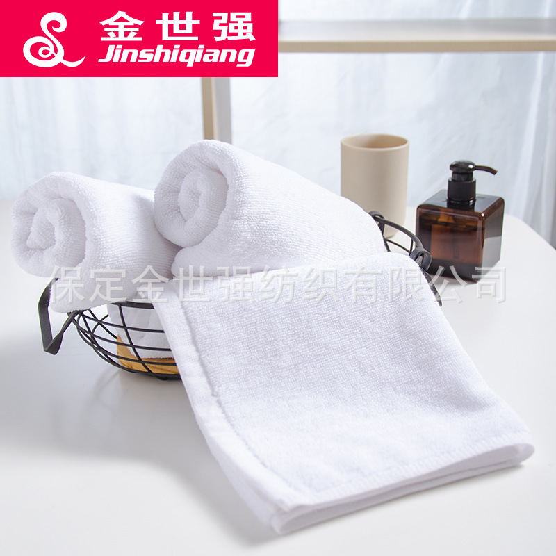 Hotel Towel Gift white towel Cotton Towel lint white towel towel movement hotel fire India logo wholesale manufacturers-in Storage Bags from Home & Garden