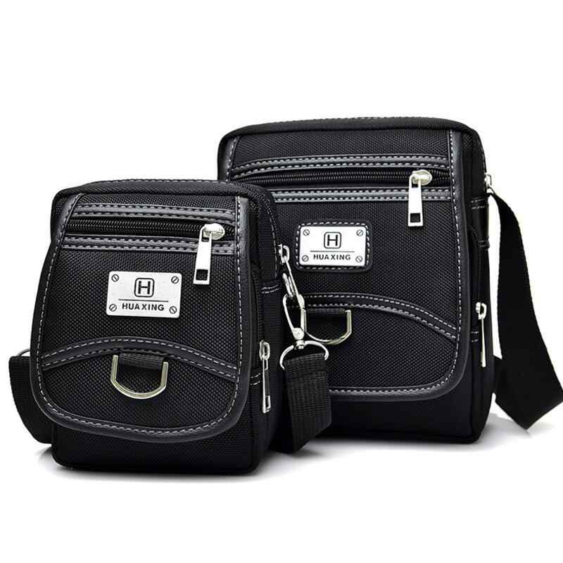 Brand Men s Bag Messenger Bags Wateproof High Quality Nylon Black Designer  Cool Zipper Bag Crossbody For 06c42d6d3068f