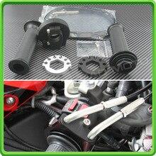 Быстрое действие дроссельной заслонки в комплекте с кабелями комплект для Kawasaki Ninja ZX10R ZX-10R 16 Push Pull дроссельной заслонки в сборе