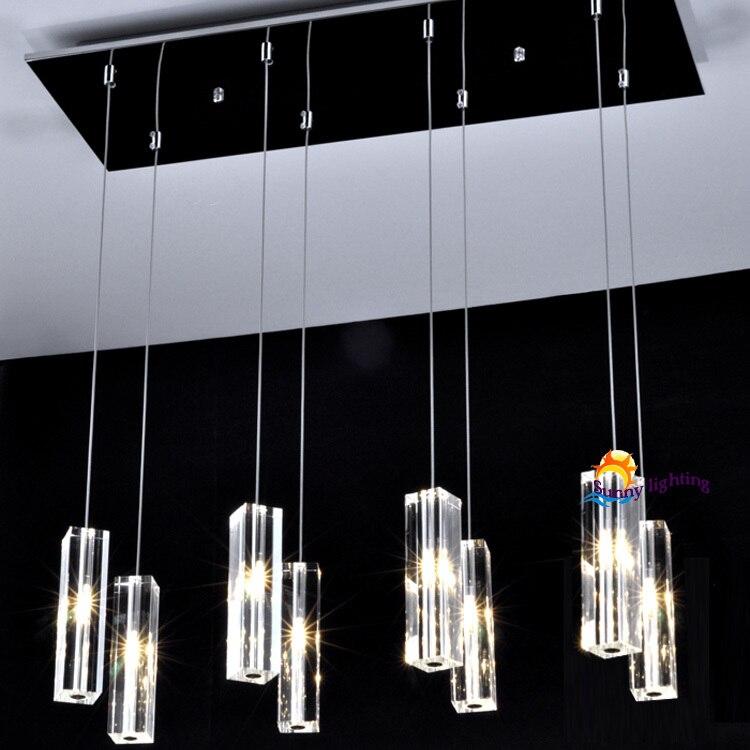 Buy 8 Lights Deluxe Dining Room Crystal Lamp Chandelier Ligh